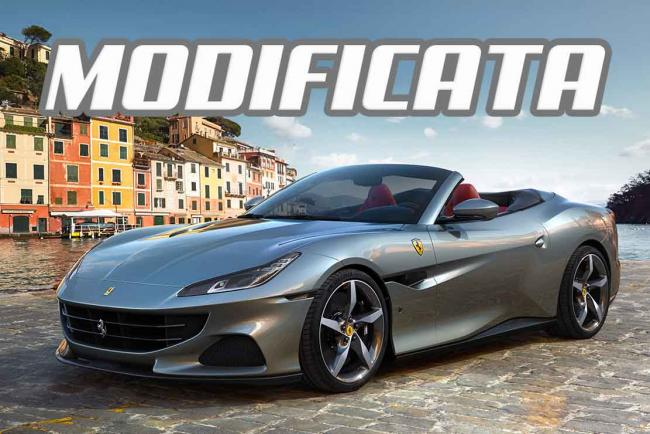 Ferrari Portofino M : Modificata et Manettino