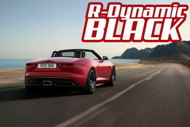 Jaguar F-TYPE R-Dynamic Black : Encore plus désirable !