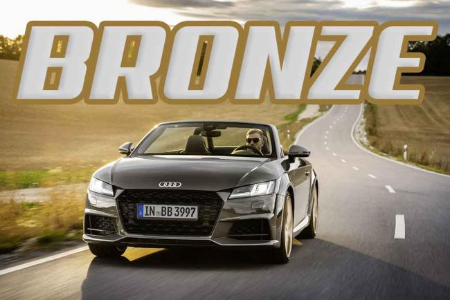 L'Audi TT se pare en « bronze selection »