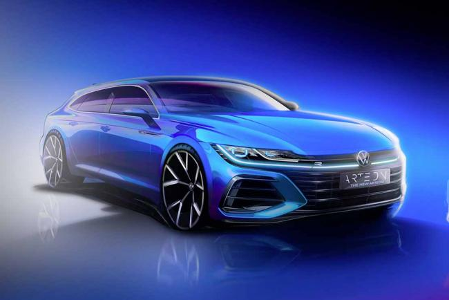 Volkswagen Arteon Shooting Brake, c'est officiel !