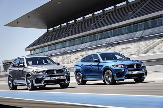 Bmw x5 m et x6 m 2015 duo d enfer