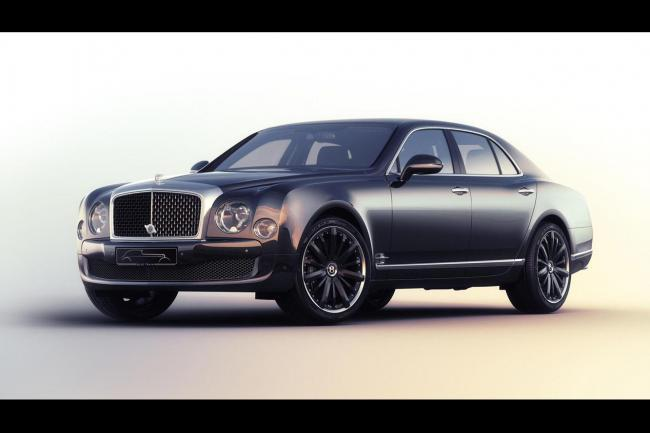 Bentley mulsanne speed blue train seulement quatre exemplaires