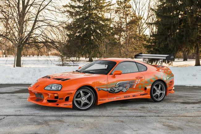 La toyota supra de fast and furious 1 aux encheres