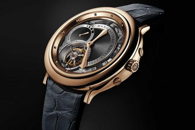 Manufacture royale 1770 or rose
