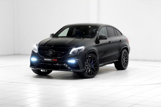 Tuning brabus offre 700 chevaux au mercedes gle coupe