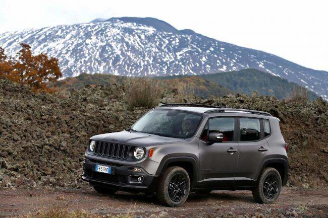 Serie speciale jeep renegade night eagle