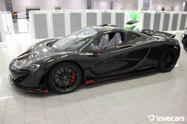 Mclaren p1 place a la carbon series