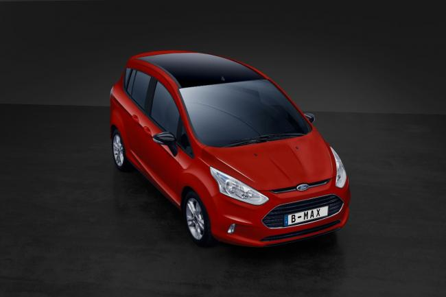 Serie speciale ford b max color edition