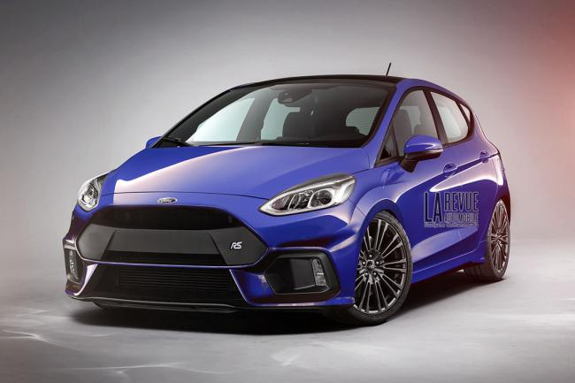 Ford fiesta rs ford performance va se lacher