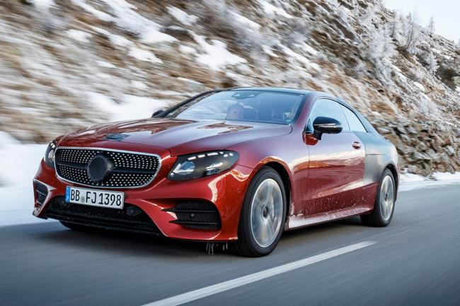 Une mercedes amg e 50 coupe en preparation