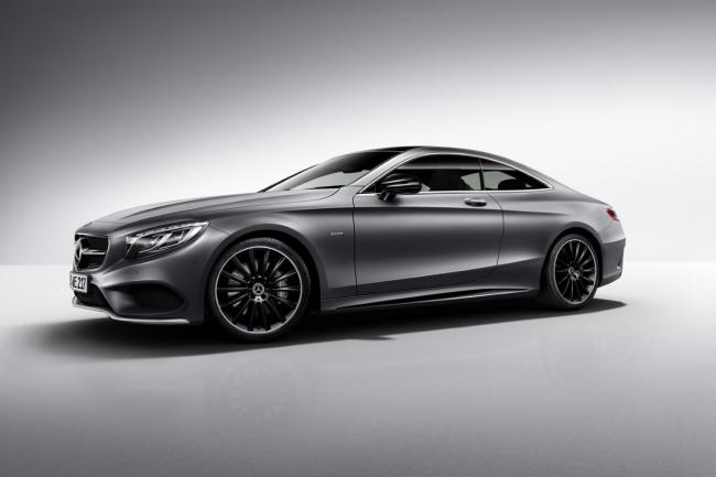 Serie speciale mercedes classe s night edition
