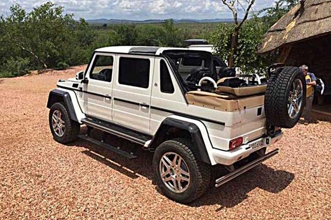 Le 4x4 maybach mercedes maybach g65 4x4sup2 landaulet