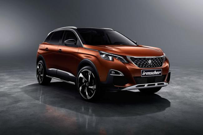 Peugeot 3008 plus de dynamisme avec le preparateur irmscher