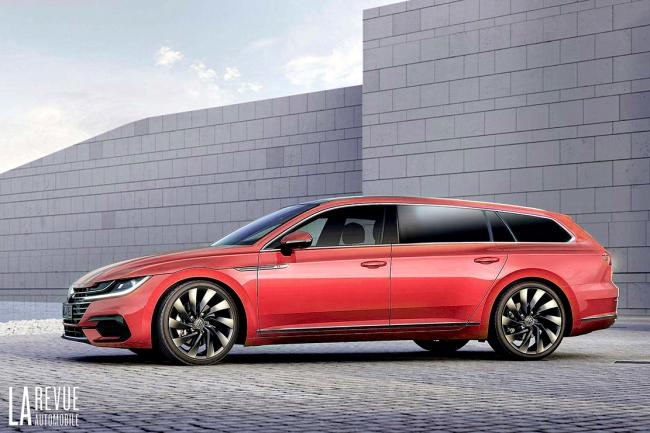 Volkswagen Arteon SW : le break arrive