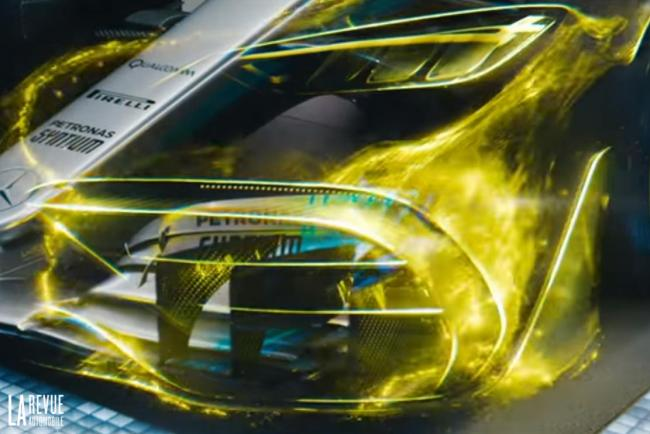 Encore quelques pieces du puzzle pour la Mercedes AMG project one