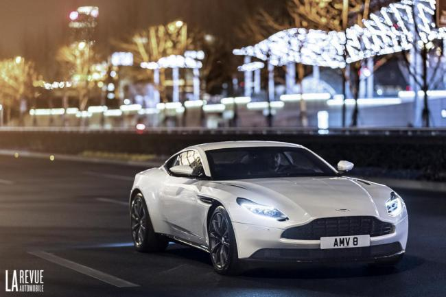 Aston martin db11 v8 elle donne de la voix en video