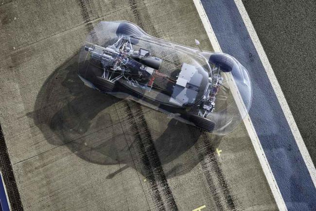 Mercedes AMG project one : technologies de f1