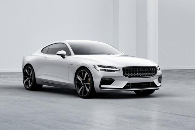 Polestar one le coupe hybride de 600 ch et 1 000 nm