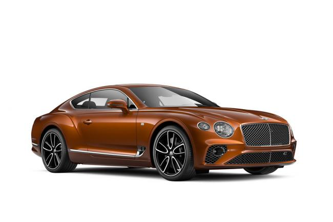 Bentley continental gt first edition pour le lancement