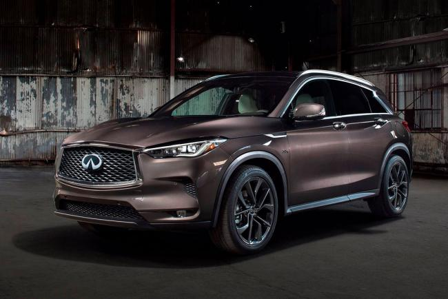 Infiniti qx50 une premiere photo