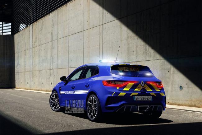 Renault Megane La Renault Megane Rs Devrait Equiper La Gendarmerie Nationale
