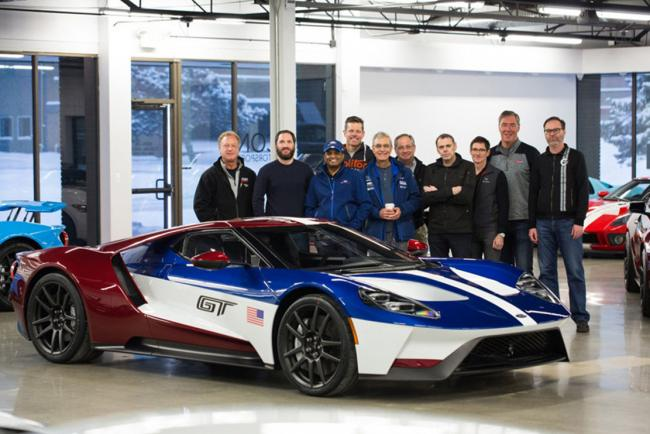 Ford gt une livree victory tres exclusive