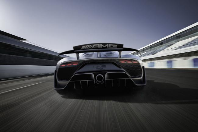 Mercedes AMG project one : vers le record absolu sur le Nurburgring