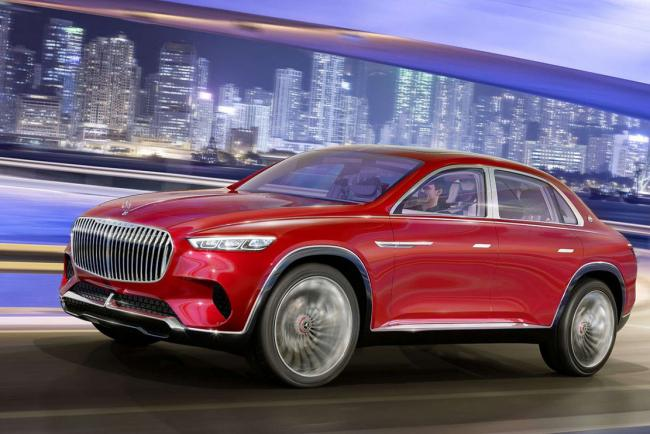 Le mercedes maybach ultimate luxury prend la fuite