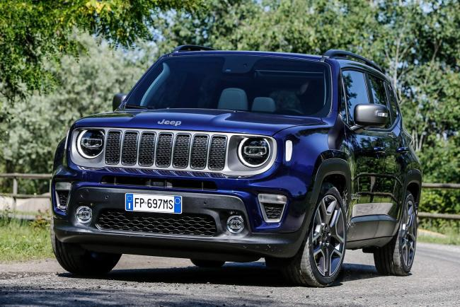 Jeep renegade la version plug in hybride arrivera en 2020