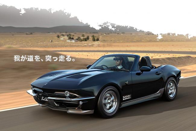 Mitsuoka Rock Star : le Mazda MX-5 se transforme en Chevrolet Corvette c2