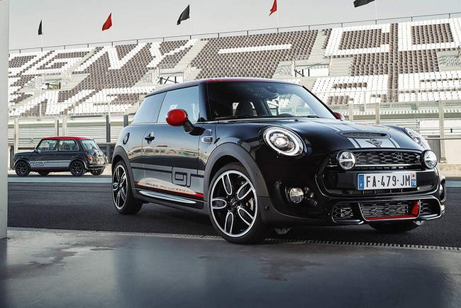 Mini cooper s gt edition uniquement proposee en france