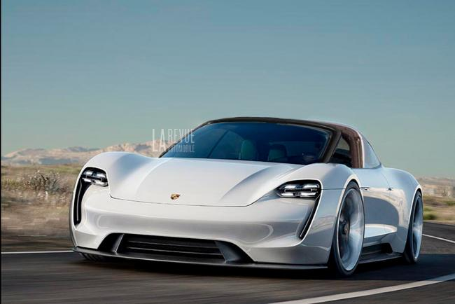 Porsche taycan une version targa en preparation entre autres