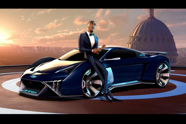 Audi rsq e tron concue pour will smith dans spies in disguise