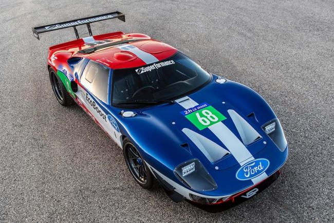 Future gt forty la ford gt40 a motorisation ecoboost