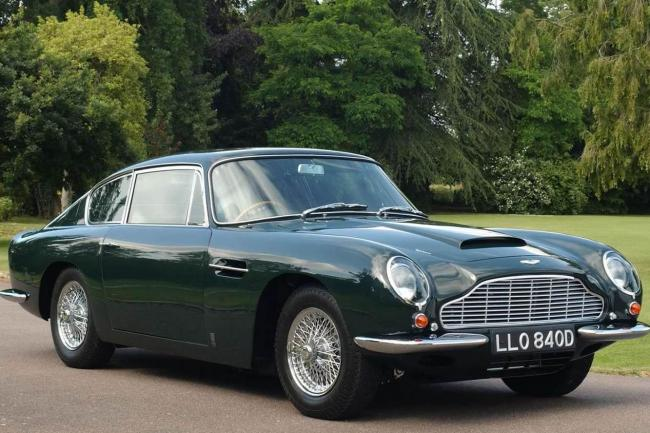 Photos aston martin db6 1965