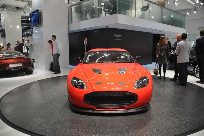 Photos aston martin v12 zagato francfort 2011