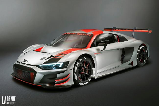 Audi r8 lms gt3 plus efficace et plus legere