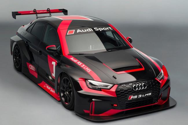 Audi rs3 lms prete pour la competition en categorie tcr