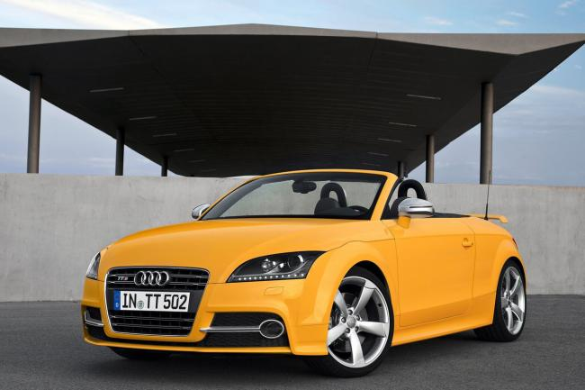 Photos audi tts roadster competition