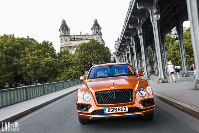 Essai Bentley Bentayga V8 : le grand 8 britannique