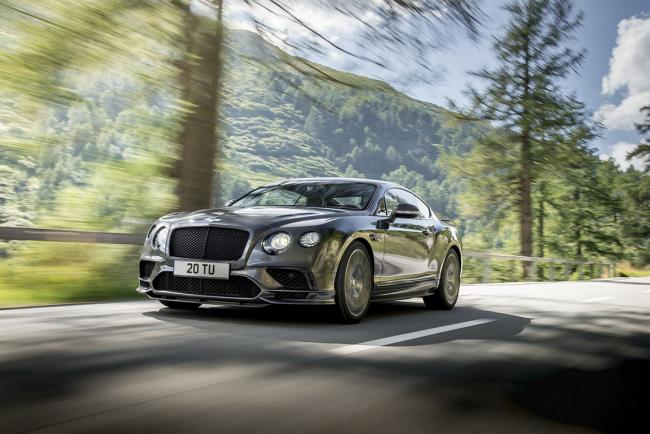 Bentley continental supersports 710 ch sous le capot