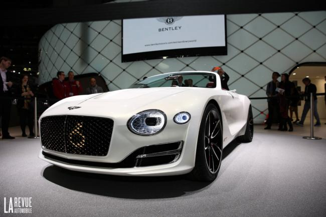 Bentley exp 12 speed 6e la superbe surprise de bentley a geneve