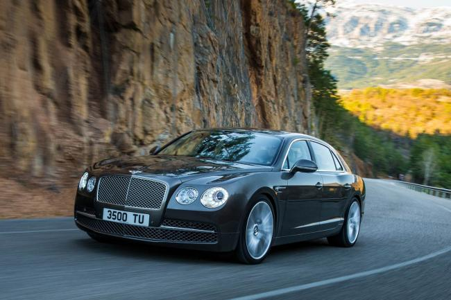 Bentley saffirme en chine avec sa flying spur
