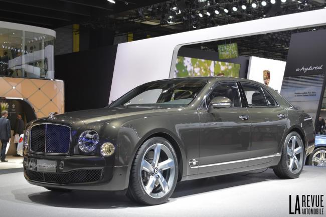 La nouvelle mulsanne speed de bentley