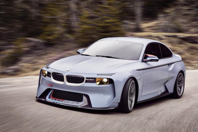 BMW 2002 Hommage concept : une version corrigée à Pebble Beach
