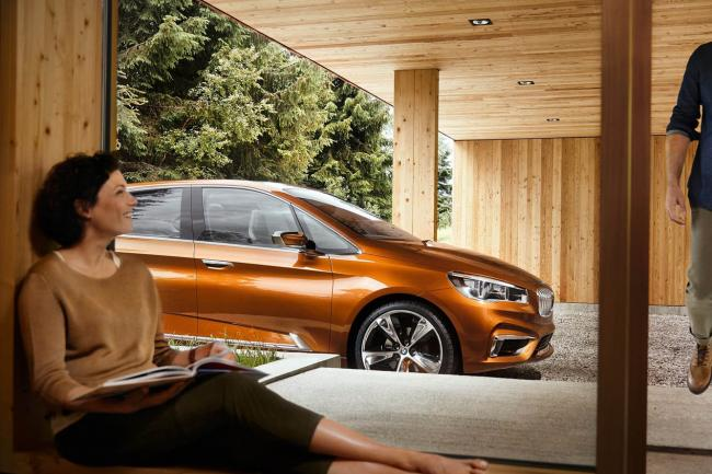 Photos bmw active tourer outdoor