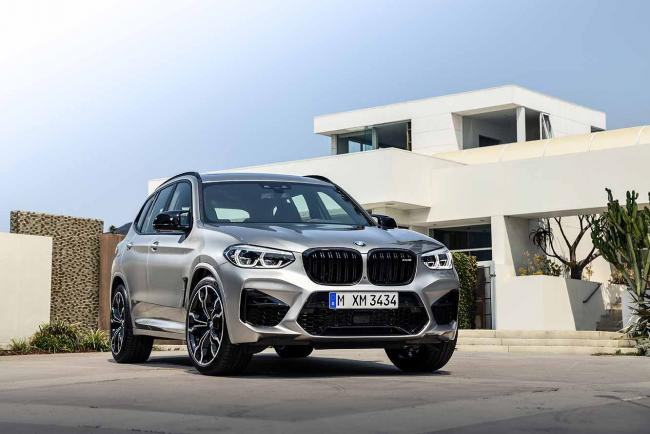 Galerie BMW X3 M Competition