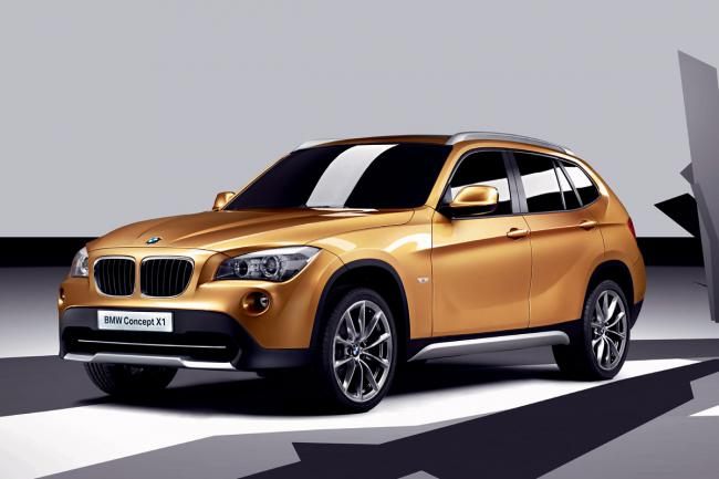 Bmw concept x1 tres proche du modele de production