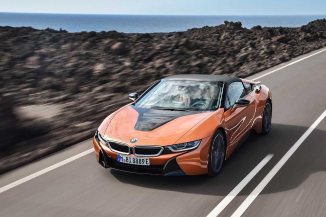 Bmw i8 coupe et roadster 2018 les infos