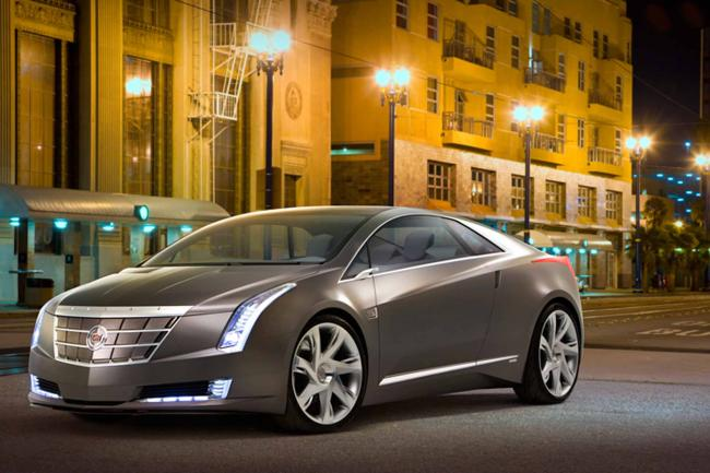 Cadillac converj concept the green light from usa